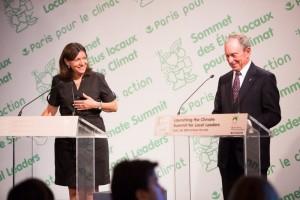 Anne Hidalgo and Michael Bloomberg, 30.07.2015 © City of Paris