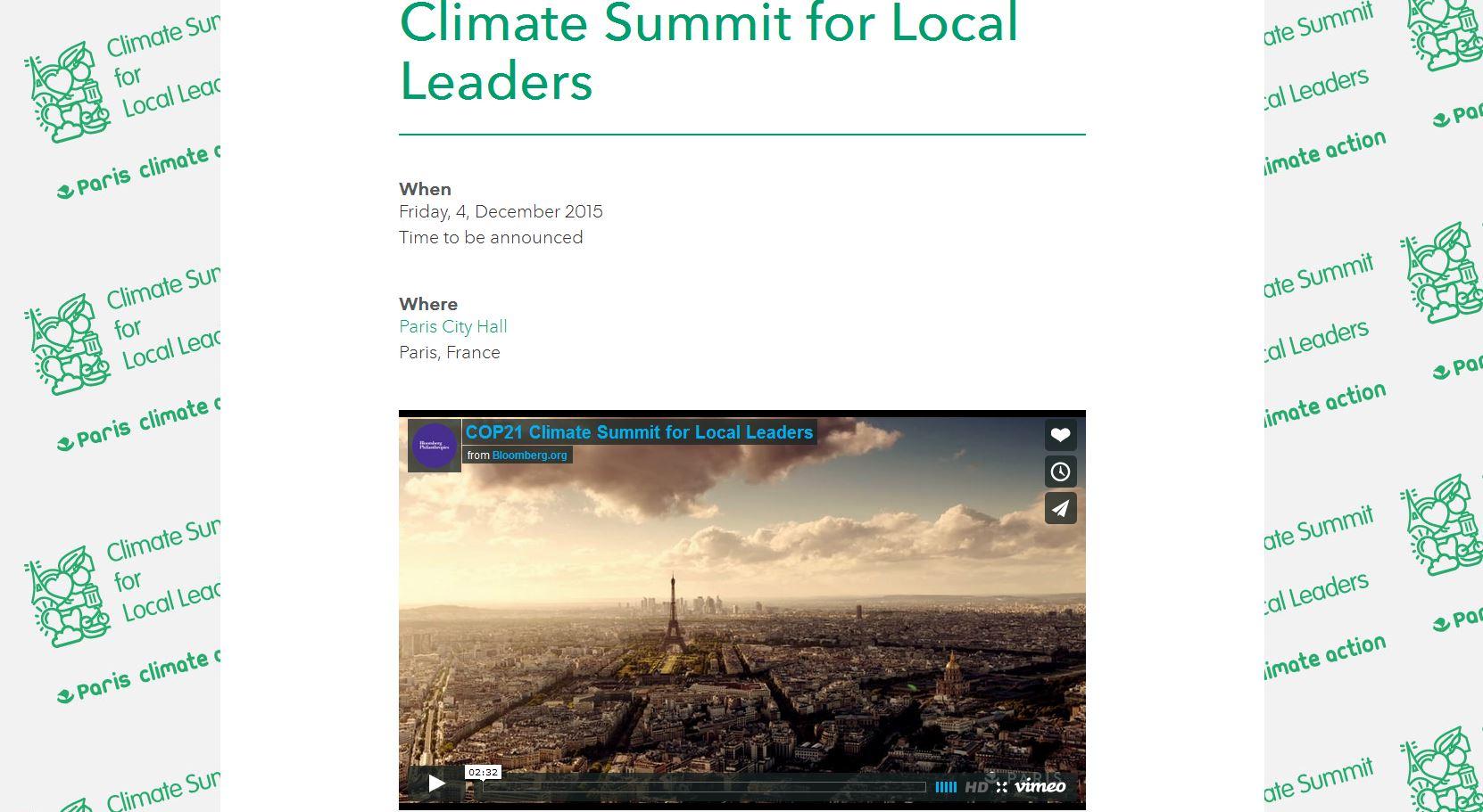 Paris Summit screenshot